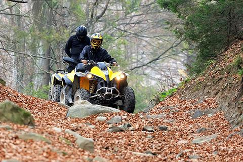 Travel on ATVs